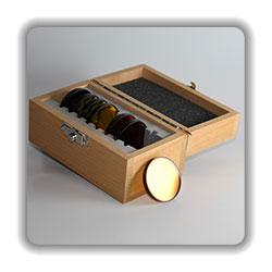 Optische Bandpassfilter, 50mm Durchmesser