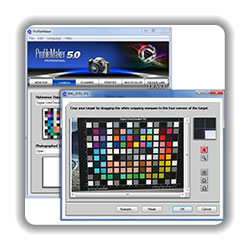 Professionelle Profilerstellungsoftware Profile Maker 5 Platinum (X-Rite)